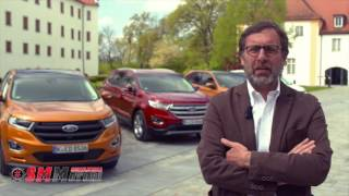 Nuova Ford Edge Test drive 2016