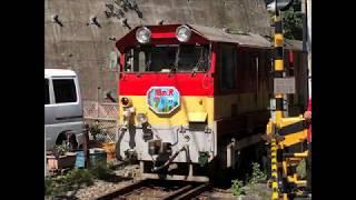 【アプト式】大井川鐵道井川線クハ600+スロフ300形 千頭駅前踏切通過