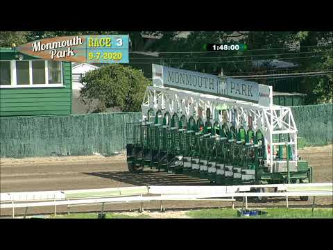 video thumbnail for MONMOUTH PARK 09-07-20 RACE 3