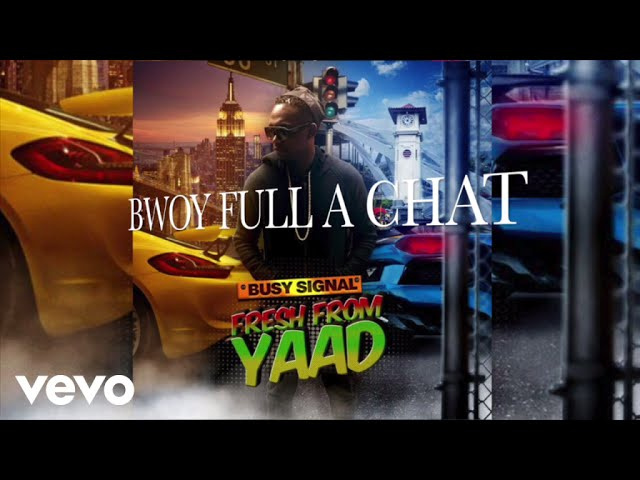 Busy Signal - Bwoy Full A Chat (Audio)