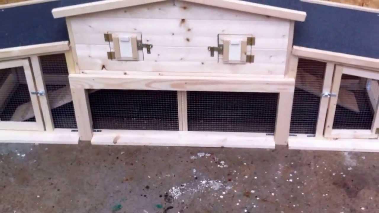 conigliera in legno arkemus youtube
