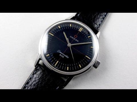 Steel Omega Seamaster 600 Ref. 135.011 vintage wristwatch, circa 1964