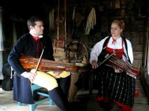 Swedish folk music - nyckelharpa