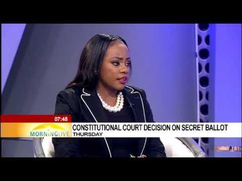 Constitutional court decision on secret ballot on Thursday