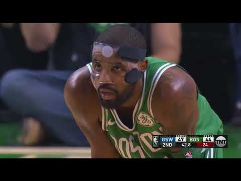 Marcus Smart Costs Celtics Two Points By Poking Kyrie Bucket Out Of Rim