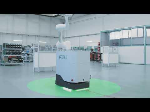 Cobot Doosan Robotics + AGV Sew-Eurodrive : ottimizza la movimentazione di materiali nella logistica