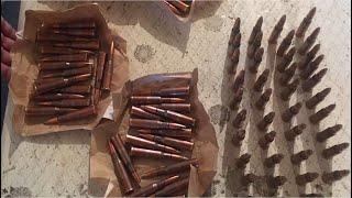 Ապարանի ոստիկանները Արցախից բերված փամփուշտներ են հայտնաբերել