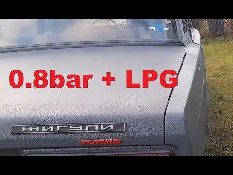 Lada Turbo su dujom 0.8bar test drive, keli fiksai ir patobulinimai, kelionė iki Kauno ir atgal
