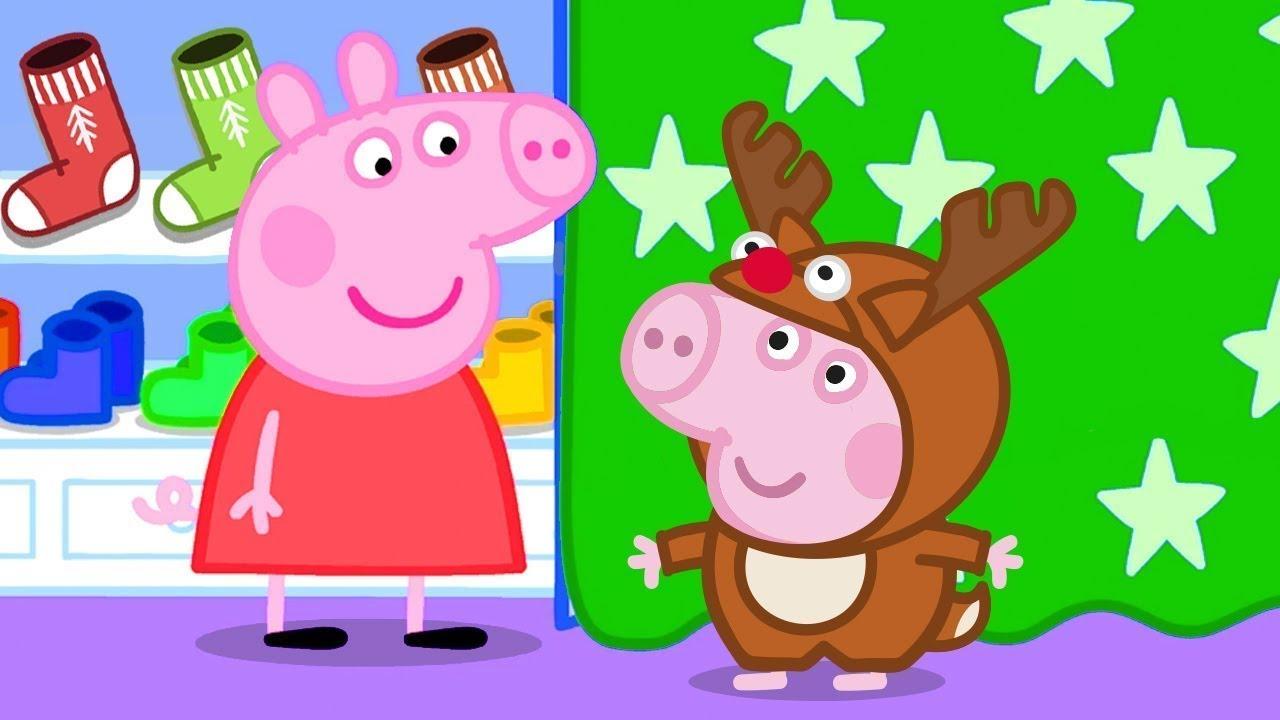 Peppa Pig Português Brasil 🎄 O primeiro Natal da Peppa 🎄 HD | Desenhos Animados