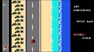 Road Fighter Classic Auto Car Racing Sport Nintendo Game