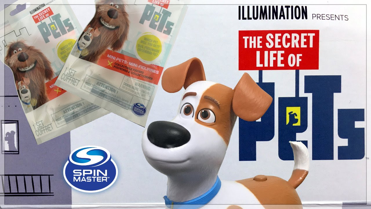 b1064169b60bcf Secret Life of Pets Blind Bags & Walking Talking Max Pet Review/Spin Master  Toys - YouTube