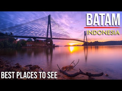 Tourist Attractions in Batam, Indonesia (2018) || Cinematic