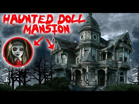 (HAUNTED DOLL MANSION) 24 HOUR OVERNIGHT CHALLENGE IN CANADA'S MOST HAUNTED DOLL MANSION