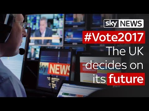Sky News On Election Night