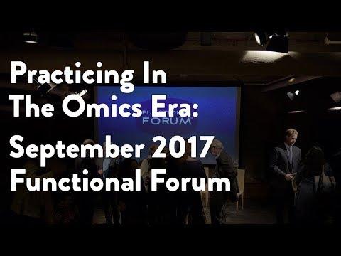 September 2017 Functional Forum