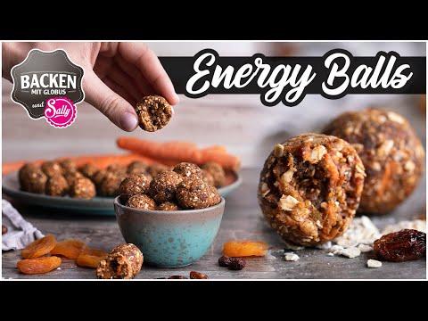 Energy Balls  der leckere Snack für zwischendurch | Backen mit Globus & Sally #107