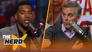 Jim Jackson talks key to Boston's Game 1 success, LeBron's Legacy and Westbrook | NBA | THE HERD