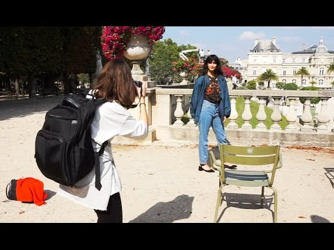 My First Photoshoot in Paris - Jardin du Luxembourg
