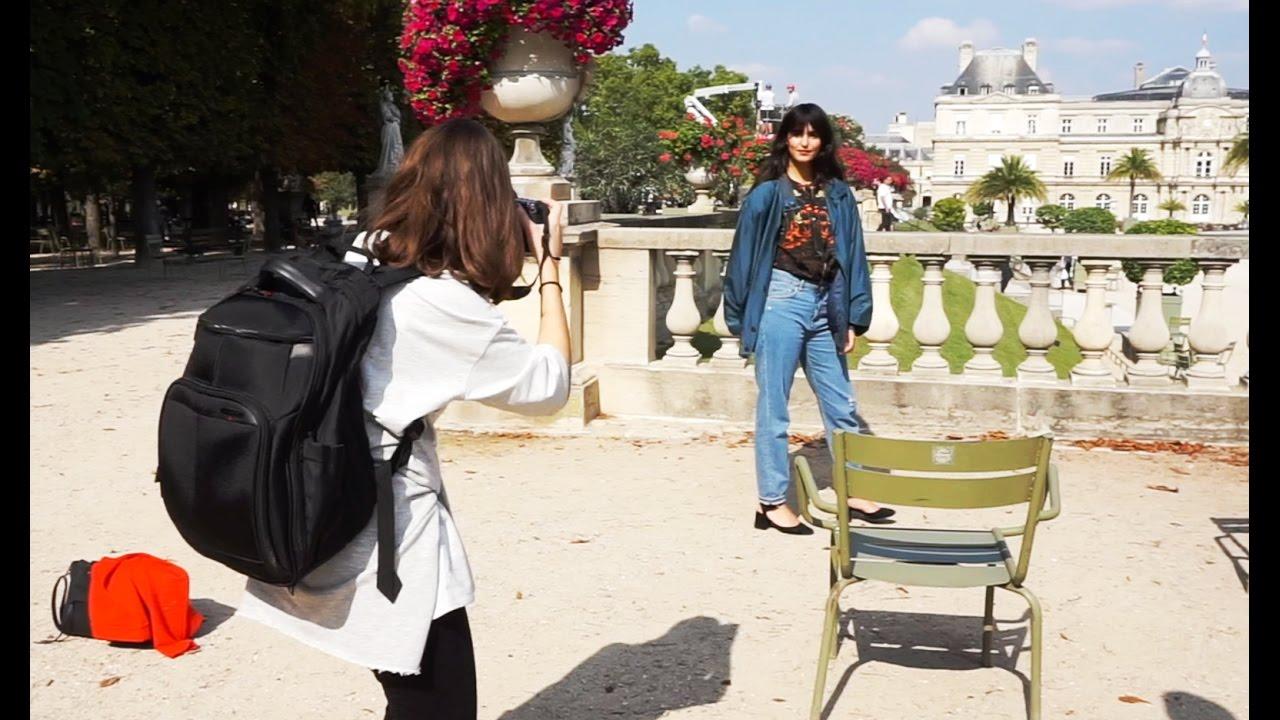 My first photoshoot in paris jardin du luxembourg youtube for Au jardin du luxembourg
