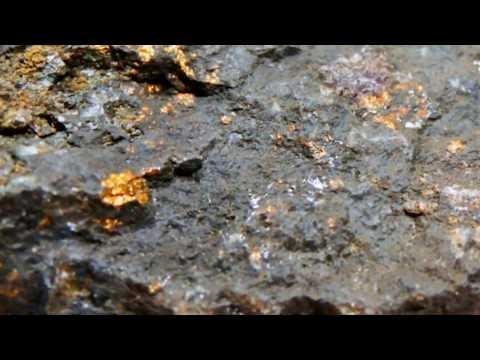 Minerals in Color - The Black Hole in Drammen, Norway.