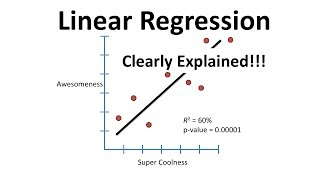 StatQuest: Linear Models Pt.1 - Linear Regression