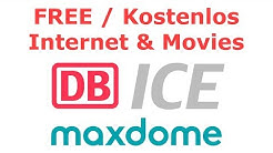 How to get Free Internet & Maxdome Movies on DB ICE Trains Germany