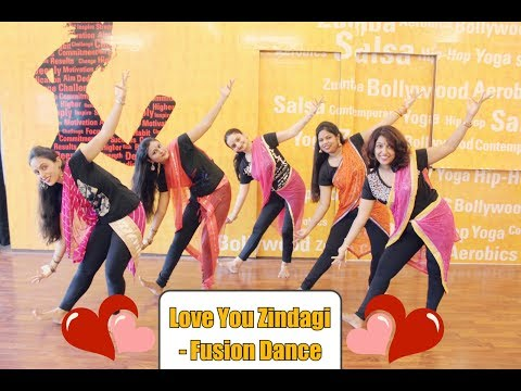 Love you Zindagi- Club Remix- Fusion Dance by Just knock