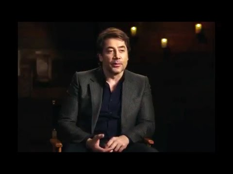 JAVIER BARDEM Pirates of The Caribbean 5: Dead Men Tell No Tales Interview