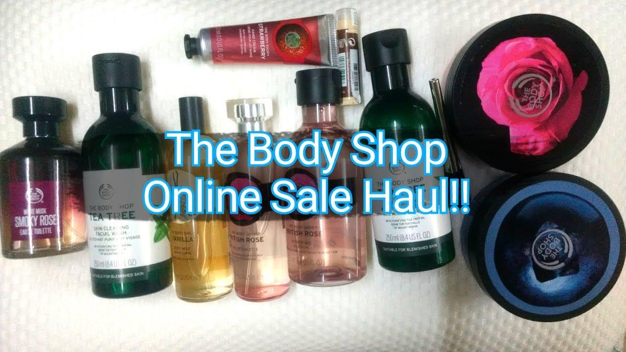 The Body Shop Sale Haul | Body ****er, Body Mists, Perfumes | TheLifeSheLoved | Sana K