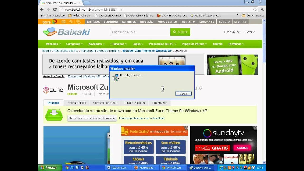 PRETO XP WINDOWS BAIXAR TEMA LARANJA