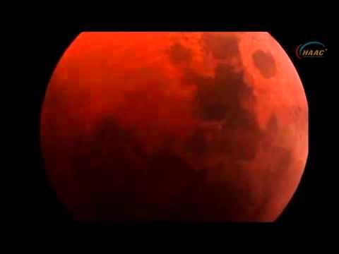 Hiện tượng Mặt trăng máu sắp xuất hiện