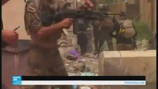 مقاومة عنيفة لتقدم القوات العراقية في الفلوجة