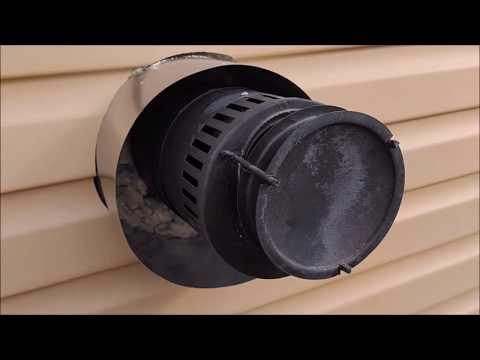 Установка газового конвектора в СИП доме.