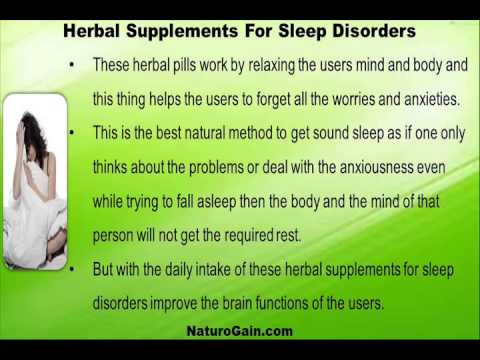 Buy Herbal Supplements For Sleep Disorders From Trustworthy Online Stores