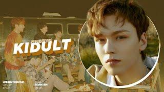 Gambar cover SEVENTEEN (세븐틴) - Kidult (어린 아이) | Line Distribution