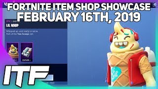 Fortnite Item Shop *NEW* LIL WHIP SKIN SET! [February 16th, 2019] (Fortnite Battle Royale)