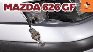 rear and front Brake disc kit change on MAZDA 1300 1975 - video instructions