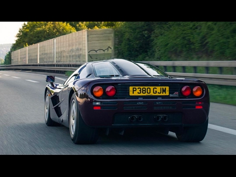 My First Drive Of The McLaren F1 And Why it