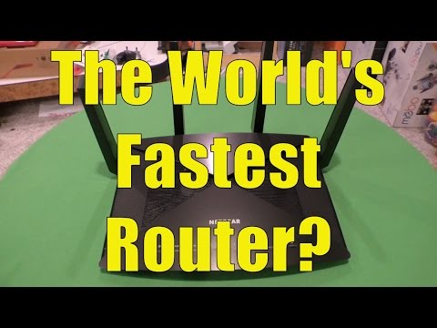 Nighthawk X10 WiFi Router Review (AD7200), The World's Fastest Router?