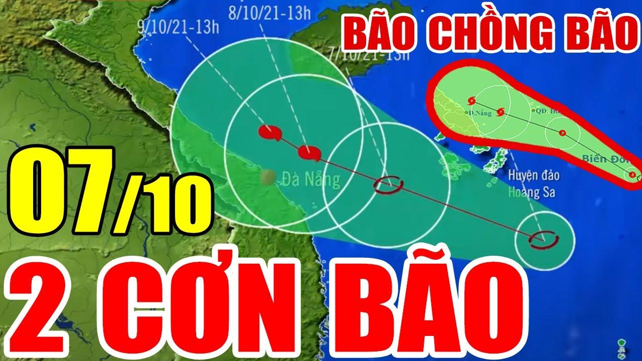 Dự báo thời tiết hôm nay mới nhất ngày 7/10 | Dự báo thời tiết 3 ngày tới