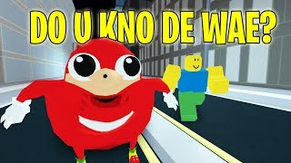 Do You Know De Wae?! Roblox Jailbreak
