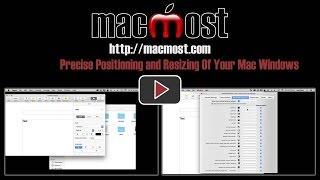 Precise Positioning and Resizing Of Your Mac Windows (#1192)
