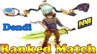 Dota 2 - Dendi plays Tinker - Ranked Match!