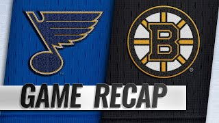 Rask ties club record in 5-2 win against Blues