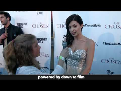 Angelica Chitwood  at The Chosen Premiere
