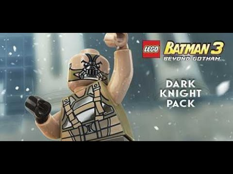 Lego Batman 3: Beyond Gotham DLC Темный рыцарь (немое прохождение/без комментариев)