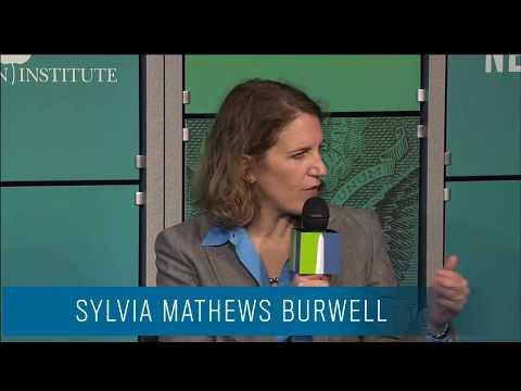 Sylvia Mathews Burwell / Washington Ideas Forum 2013