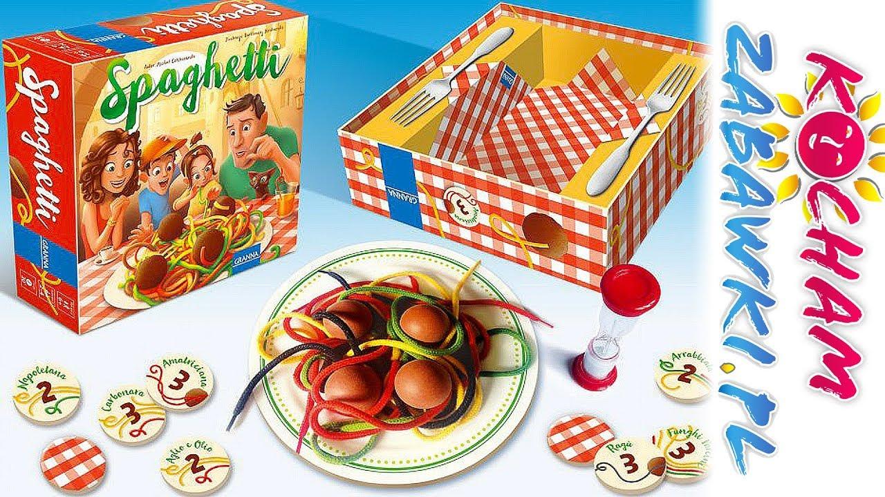 Spaghetti • Granna • Gry Dla Dzieci