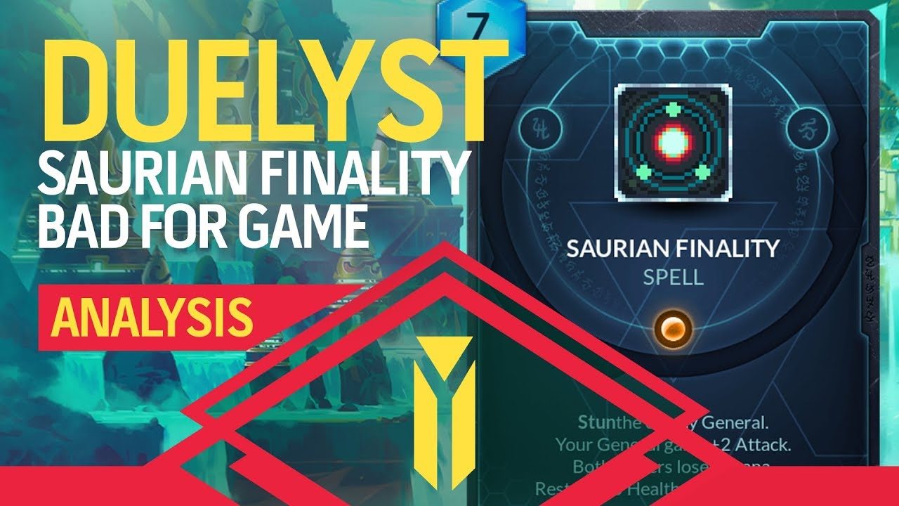 DUELYST | Saurian Finality And...