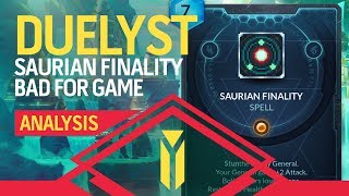 DUELYST | Saurian Finality And Why It